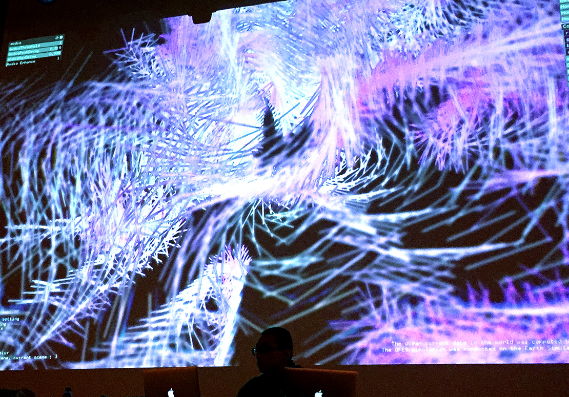 VJ at ars electronica 2016